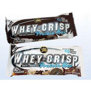Proteínová tyčinka Whey-Crisp 50 g - All Stars white chocolate cookie vyobraziť