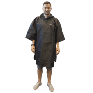 Pláštenka TREKMATES Essential Poncho čierna vyobraziť