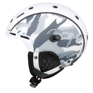 Lyžiarska prilba CASCO SP-6 Airwolf Camo white-black-grey 54-58 cm ... fbde35df788