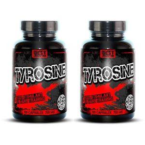 1+1 Zadarmo: Tyrosine od Best Nutrition 120 kaps. + 120 kaps. vyobraziť