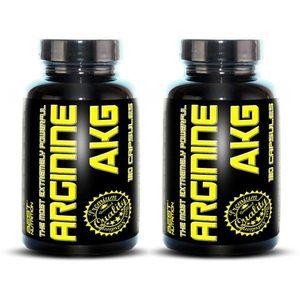 1+1 Zadarmo: Arginine AKG od Best Nutrition 120 kaps + 120 kaps vyobraziť