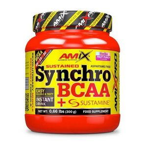 Synchro BCAA + Sustamine - Amix 300 g Fresh Fruit Punch vyobraziť