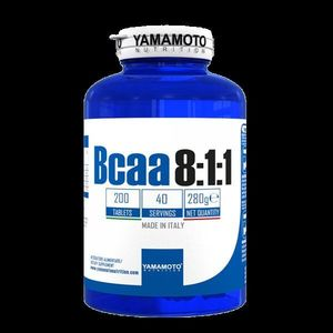 BCAA 8: 1: 1 - Yamamoto 200 tbl. vyobraziť