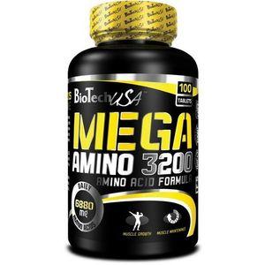 Mega Amino 3200 - Biotech USA 100 tbl vyobraziť