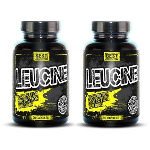 1+1 Zadarmo: Leucine od Best Nutrition 120 kaps. + 120 kaps. vyobraziť