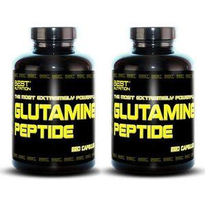 1+1 Zadarmo: Glutamine Peptide od Best Nutrition 250 kaps + 250 kaps. vyobraziť