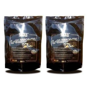 1+1 Zadarmo: L-Glutamin pure od Best Nutrition 250 g + 250 g vyobraziť