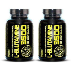 1+1 Zadarmo: L-Glutamine od Best Nutrition 120 kaps. + 120 kaps. vyobraziť