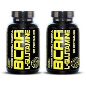 1+1 Zadarmo: BCAA plus L-Glutamine od Best Nutrition 120 kaps. + 120 kaps. vyobraziť