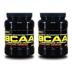 1+1 Zadarmo: BCAA Instant Drink od Best Nutrition 300 g + 300 g Citrón+Mint vyobraziť