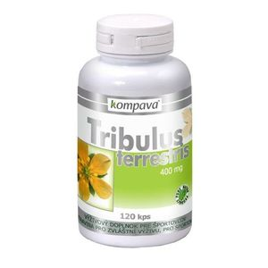 Tribulus terrestris - Kompava 120 kaps vyobraziť