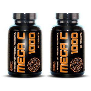 1+1 Zadarmo: Mega C 1000 od Best Nutrition 90 tbl. + 90 tbl. vyobraziť