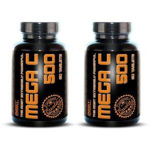 1+1 Zadarmo: Mega C 500 + šípky od Best Nutrition 90 tbl. + 90 tbl. vyobraziť