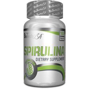 Spirulina - Biotech USA 100 tbl. vyobraziť