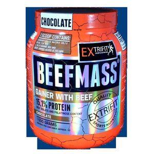 Beefmass Gainer - Extrifit 1500 g Vanilka+Karamel vyobraziť