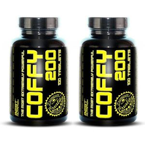 1+1 Zadarmo: Coffy 200 od Best Nutrition 100 kaps. + 100 kaps. vyobraziť