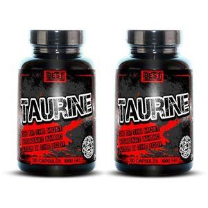 1+1 Zadarmo: Taurine od Best Nutrition 120 kaps. + 120 kaps. vyobraziť