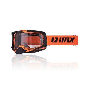 Motokrosové okuliare iMX Dust Graphic Fluo Yellow-Black Matt vyobraziť