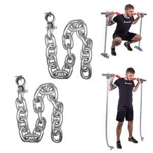 Vzpieračské reťaze inSPORTline Chainbos 2x25 kg vyobraziť