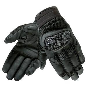 Kožené moto rukavice Rebelhorn Gap II CE čierna - 3XL vyobraziť