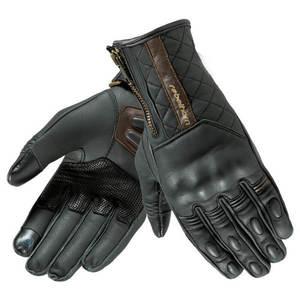 Kožené moto rukavice Rebelhorn Opium II Retro Lady CE čierna - L vyobraziť