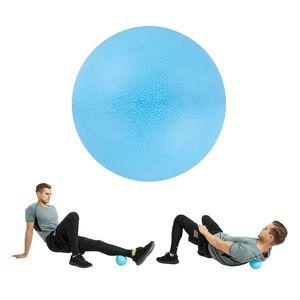 Masážna loptička inSPORTline Thera 12 cm modrá vyobraziť