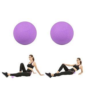 Masážne loptičky inSPORTline Thera 6, 5 cm fialová vyobraziť