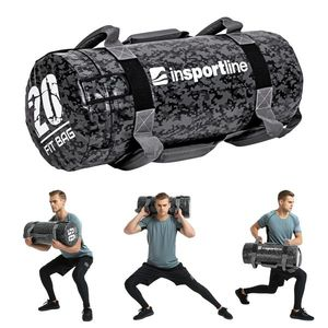 Posilňovací vak s úchopmi inSPORTline Fitbag Camu 20 kg vyobraziť