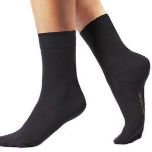 Stredné bambusové ponožky Bamboo biela - 44 47 (49 kúskov ... 08136775a0