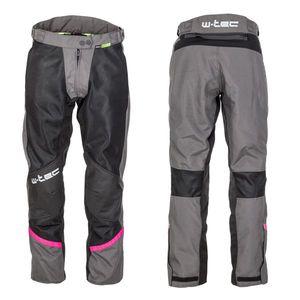 Dámske letné moto nohavice W-TEC Artemisa Black Grey - XXL vyobraziť