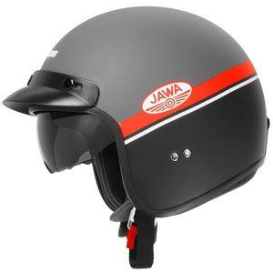 Moto prilba Cassida Oxygen Jawa OHC červená matná/čierna/biela - XXL (63-64) vyobraziť