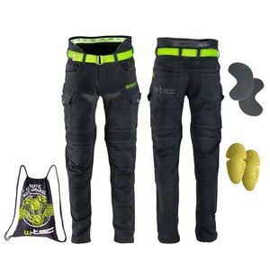 Pánske moto jeansy W-TEC Aredator čierna - 48 vyobraziť