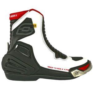 b4579b0b3d Moto topánky Ozone Urban II CE bielo-čierno-červená - 42 (37 kúskov ...