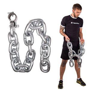 Vzpieračská reťaz inSPORTline Chainbos 25 kg vyobraziť