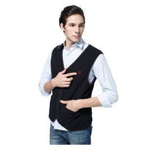 Vyhrievaná fleecová vesta Glovii GV1 čierna - XL vyobraziť