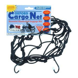 Pružná batožinová sieť pre motocykle Oxford Cargo Net 30x30 cm vyobraziť