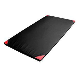 Protišmyková gymnastická žinenka inSPORTline Anskida T120 200x120x5 cm modro-červená vyobraziť