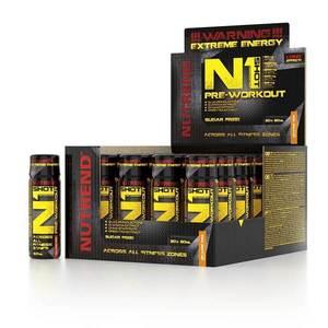 Stimulant Nutrend N1 Shot 20x60 ml čierna ríbezľa vyobraziť