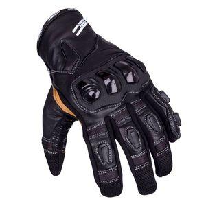 Kožené moto rukavice W-TEC Flanker B-6035 čierna - 3XL vyobraziť