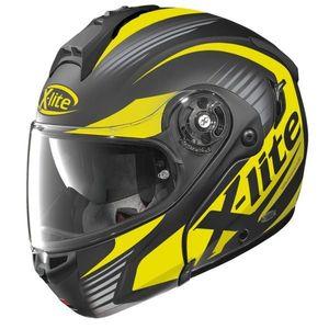 Moto prilba X-Lite X-1004 Nordhelle N-Com Flat Black-Yellow čierno-žltá - XS (53-54) - Záruka 5 rokov vyobraziť