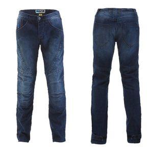Pánske moto jeansy PMJ Titanium CE modrá - 44 vyobraziť