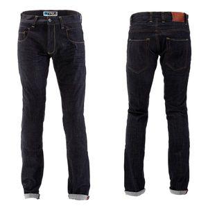 Pánske moto jeansy PMJ City modrá - 44 vyobraziť
