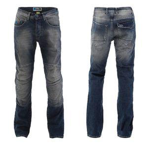 Pánske moto jeansy PMJ Vegas CE modrá - 48 vyobraziť