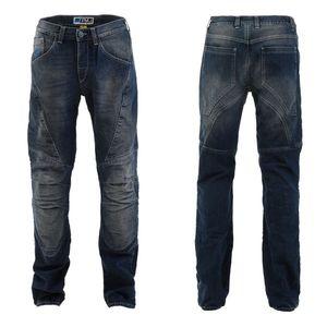 Pánske moto jeansy PMJ Dallas CE modrá - 44 vyobraziť
