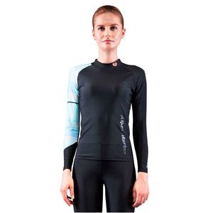 Dámske tričko pre vodné športy Aqua Marina Illusion čierna - XL vyobraziť