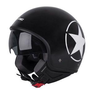 Helma na skúter W-TEC FS-710S Revolt Black čierna s hviezdou - XL (61-62) vyobraziť