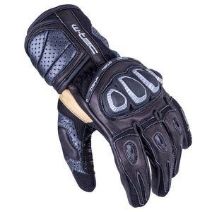 Pánske moto rukavice W-TEC Crushberg čierna - 3XL vyobraziť