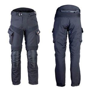 Pánske softshellové moto nohavice W-TEC Erkalis čierna - 5XL vyobraziť