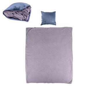 Masážny vankúš a deka inSPORTline Trawel tmavo hnedá vyobraziť