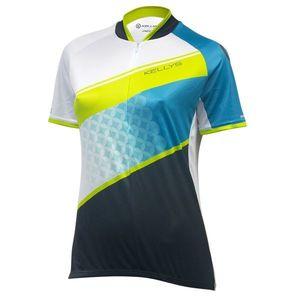 064e362018416 Dámsky cyklistický dres Kellys Jody - krátky rukáv violet-azure - XL